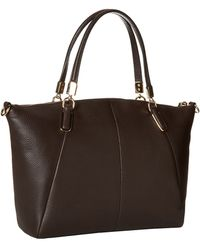 Coach Refined Grain Leather Updated Small Kelsey - Lyst