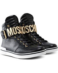 Moschino | High-top Sneaker | Lyst