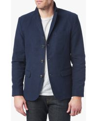 7 For All Mankind | Blazer In Navy | Lyst