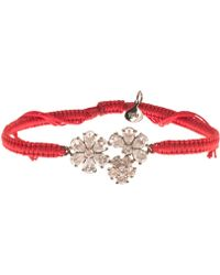 Tai - Red Flower Bracelet - Lyst