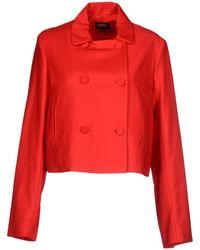 Chloë Sevigny x Opening Ceremony Jacket red - Lyst