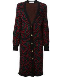 Yves Saint Laurent Vintage Long Cardi-coat - Lyst