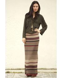 Goddis Maxi Skirt - Lyst