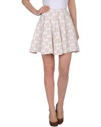 Alaïa Knee Length Skirt - Lyst