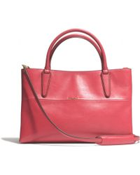 Coach The Soft Borough Bag in Nappa Leather - Lyst