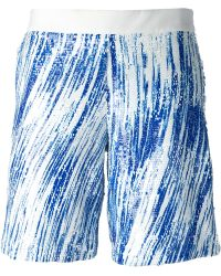 Kenzo Sequinned High Wave Shorts - Lyst