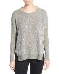 Lush - Lightweight Split Hem Sweater - Lyst