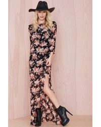 Nasty Gal For Love and Lemons Autumn Dress - Lyst