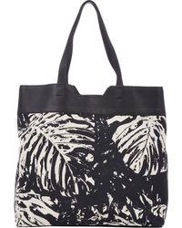 Proenza Schouler Leaf-print Paper Bag Tote - Lyst