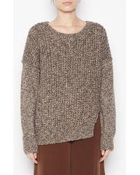 Brochu Walker The Bromley Pullover beige - Lyst