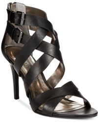 Rampage Katules Caged Sandals black - Lyst