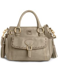 Dooney & Bourke Florentine Vachetta Medium Pocket Satchel - Lyst