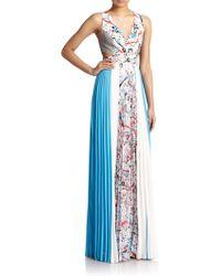 Sachin & Babi Mist V-Neck Maxi Dress - Lyst