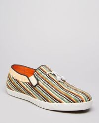 H by Hudson Fountain Multistripe Loafers - Lyst