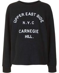 Topshop | Maternity Upper Eastside Sweatshirt | Lyst