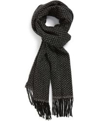 John Varvatos   Wool and Cashmere Scarf   Lyst