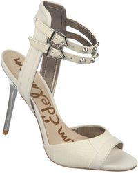 Sam Edelman Ayda Leather Strappy Sandals - Lyst