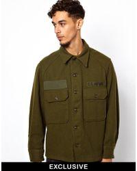 Reclaimed (vintage) Army Jacket - Lyst