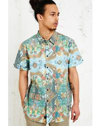 Kr3w X Winston Smith Hyde Print Shirt - Lyst