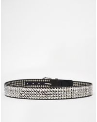 Warehouse - Studded Jean Belt - Lyst