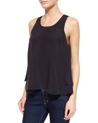 Madison Marcus Layered High-Low Tank - Lyst