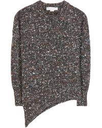 Stella McCartney Asymmetric Wool Sweater - Lyst