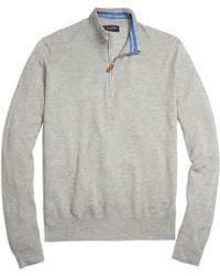 Brooks Brothers Half-zip Sweater - Lyst