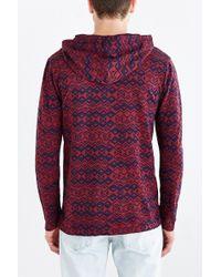 Koto - Jacquard Pullover Hooded Shirt - Lyst