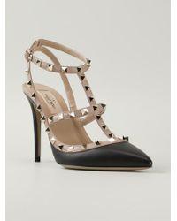 Valentino 'Rockstud' Pump Shoes - Lyst