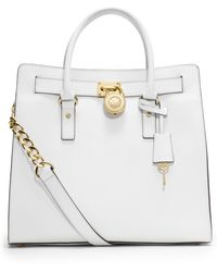Michael Kors Hamilton Large Saffiano Leather Tote - Lyst