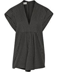 Stella McCartney Leandra Striped Woolblend Top - Lyst