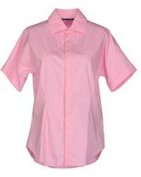 Ralph Lauren Pink Shirt - Lyst