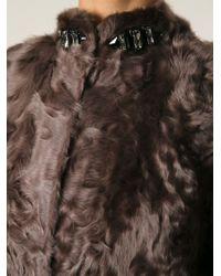 Manzoni 24 | Belted Fur Coat | Lyst