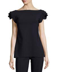 La Petite Robe Di Chiara Boni | Rosette-sleeve Tunic | Lyst