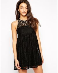 Oh My Love Lace Dress - Lyst