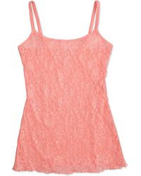 Hanky Panky Floral Shimmer Lace Cami - Lyst