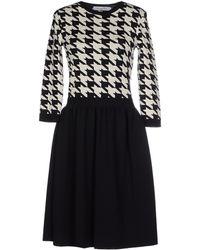 Dior Knee-Length Dress black - Lyst