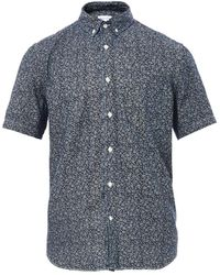 Steven Alan Single Needle Floralprint Shirt - Lyst