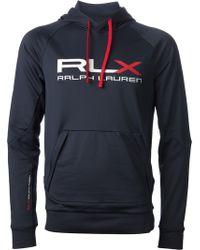 RLX Ralph Lauren - Logo Print Hoodie - Lyst