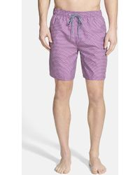 Ted Baker Men'S Ted Baker Polka Dot Swim Trunks - Lyst