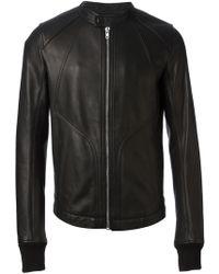 Rick Owens Intarsia Jacket - Lyst