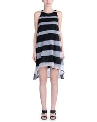 Band Of Outsiders Short Dress - Lyst