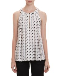 Thakoon Abstract Print Trapeze Top - Lyst