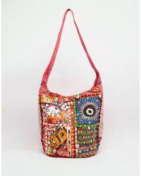 Raga - Cross Body Boho Bag - Lyst
