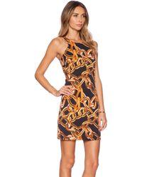 Trina Turk Aptos 2 Chain-link Print Dress - Lyst