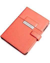 Calvin Klein White Label Valerie Mini Tablet Portfolio red - Lyst