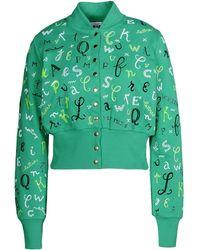 Olympia Le-Tan Sweatshirt green - Lyst