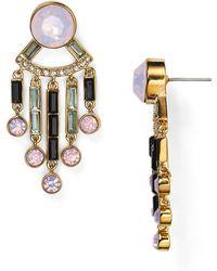 Kate Spade - Clink Of Ice Fringe Earrings - Lyst