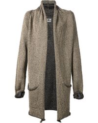 Lost & Found Shawl-Style Oversized Cardigan - Lyst