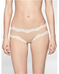 CALVIN KLEIN 205W39NYC - Underwear Cheeky Hipster With Lace - Lyst